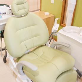歯医者さんは痛いところじゃない。痛くない歯医者さんを目指しました。
